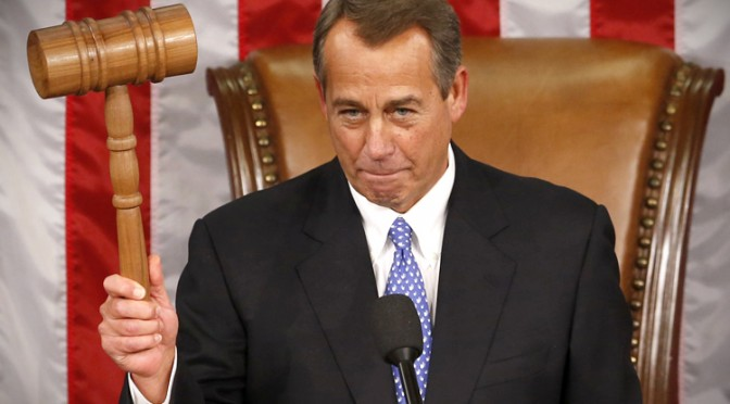 Boehner at the 113th Congress in Washington